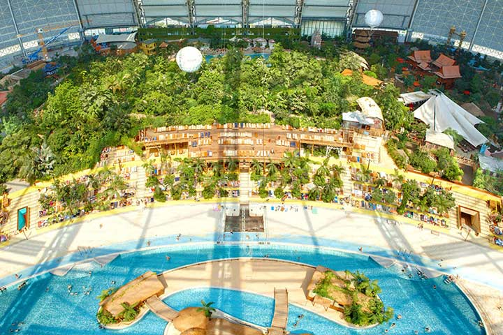 Best Water Parks In The World - Tropical Islands, Krausnick, Germany