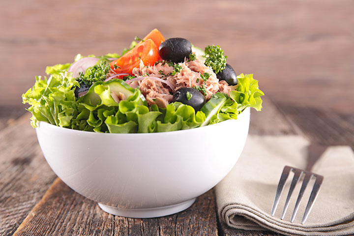 Lunch Box Recipes For Kids - Tuna Salad
