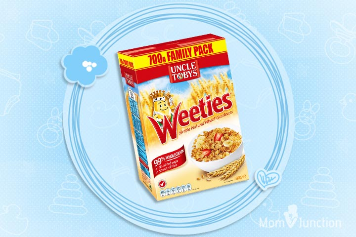 Best Cereal For Kids - Uncle Toby's VitaBrits Weetiees