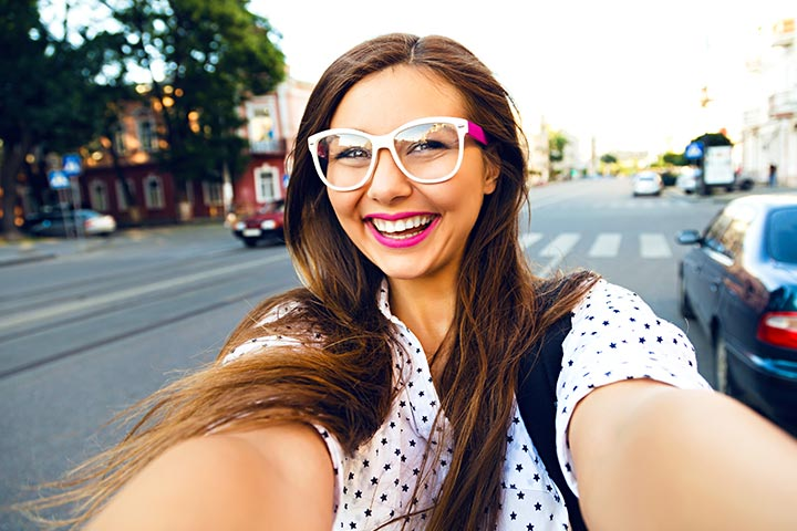 Fashion Tips For Teens - Vibrant Pair Of Glasses