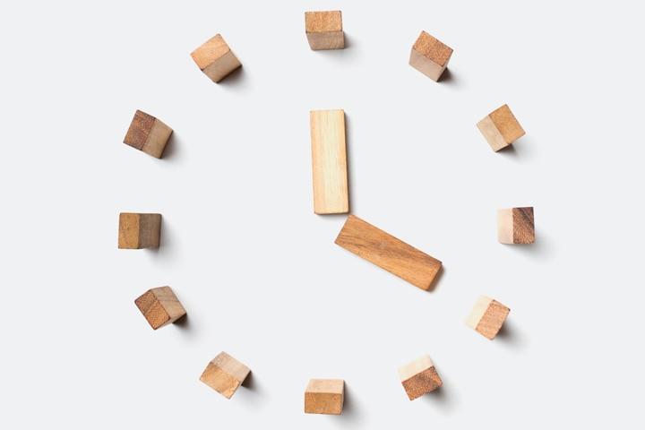 Clock Craft - Wooden Pieces Clock