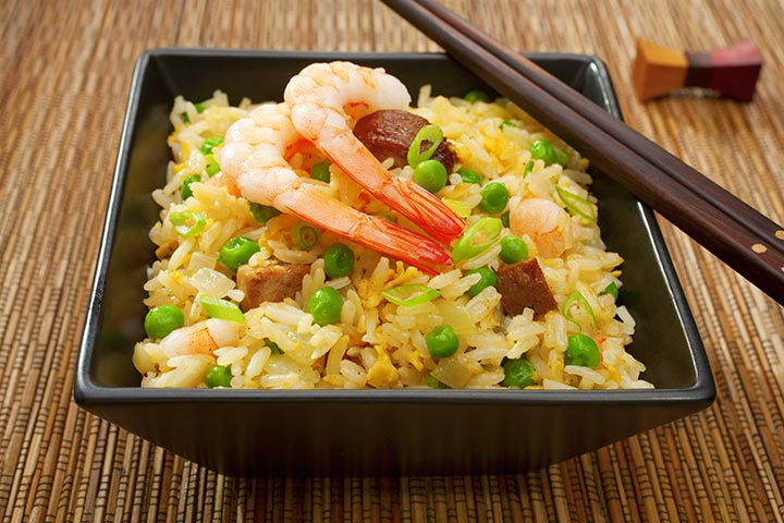 Recipes For Breastfeeding Moms - Yangchow Fried Rice