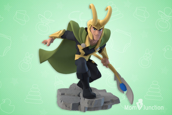 Toys For 10 Year Old Boys - Disney Infinity Marvel Super Heroes Loki Figure