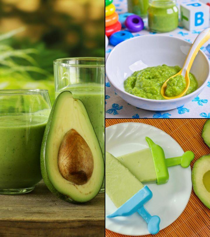 11 Tasty And Easy-To-Make Avocado Baby Food Recipes