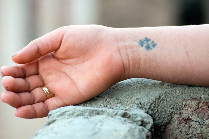 Tattoo Ideas For Teens - Wrist Tattoo