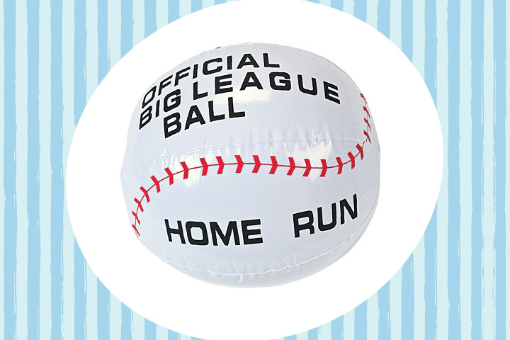 Party Favor Ideas For Kids - Inflatable Baseballs