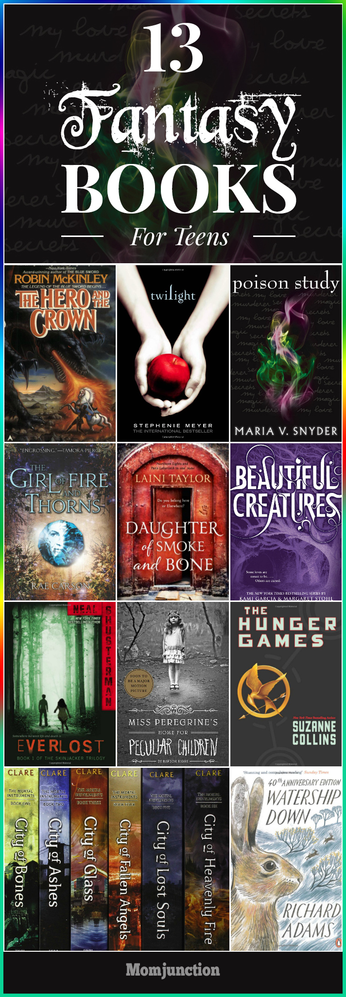 Teen fantsy series books