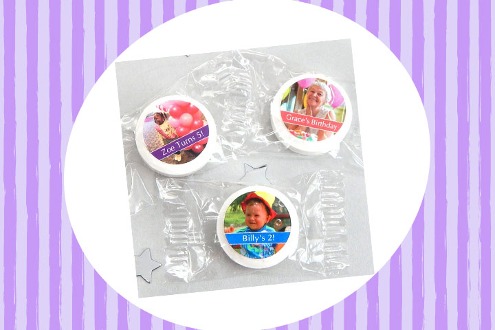 Party Favor Ideas For Kids - Personalized Birthday Life Saver Candies