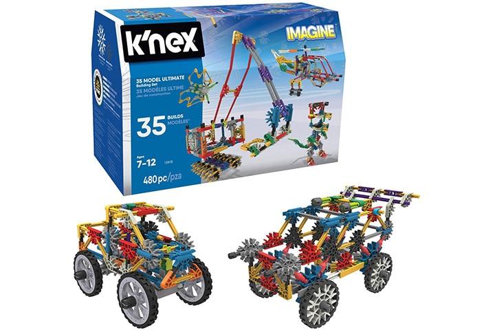 16. K'NEX – 35 Model Building Set