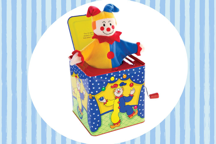 Toys For 10 Year Old Girls - Schylling Jack In The Box