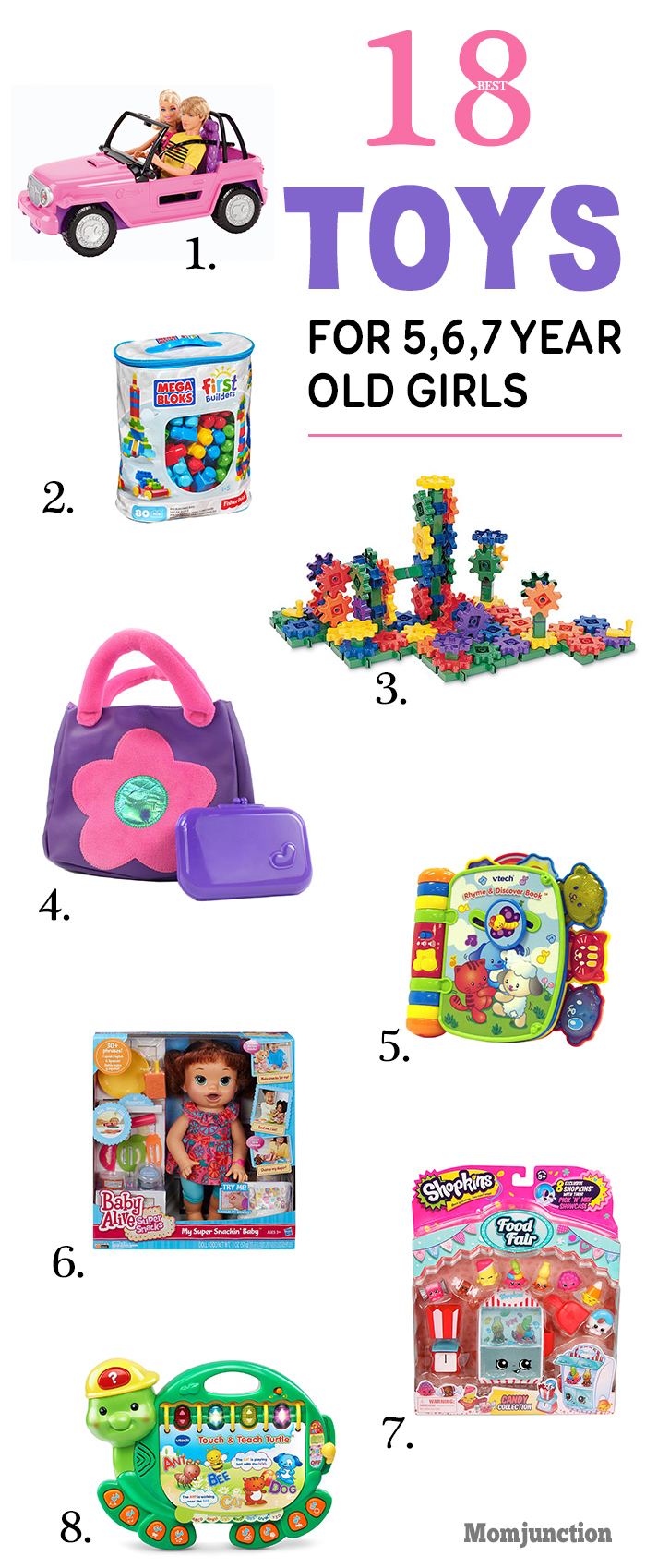15 Best Toys For 5,6 And 7-year-old Girls