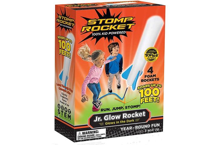 19. Stomp Rocket Jr. Glow Rocket
