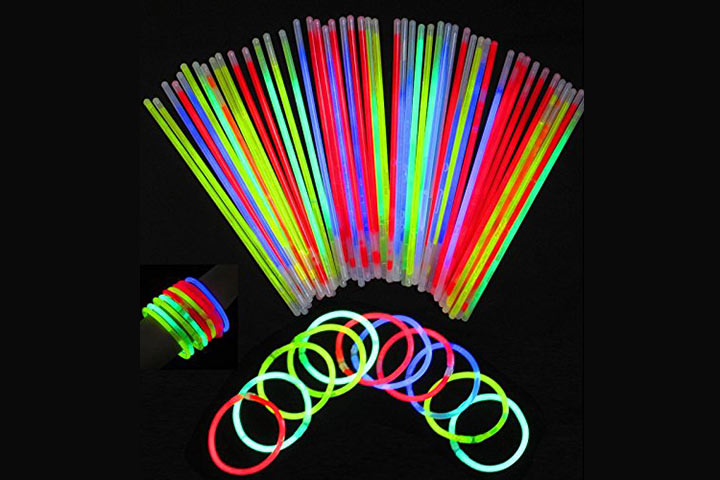 Theme My Party Glow Sticks Bracelets