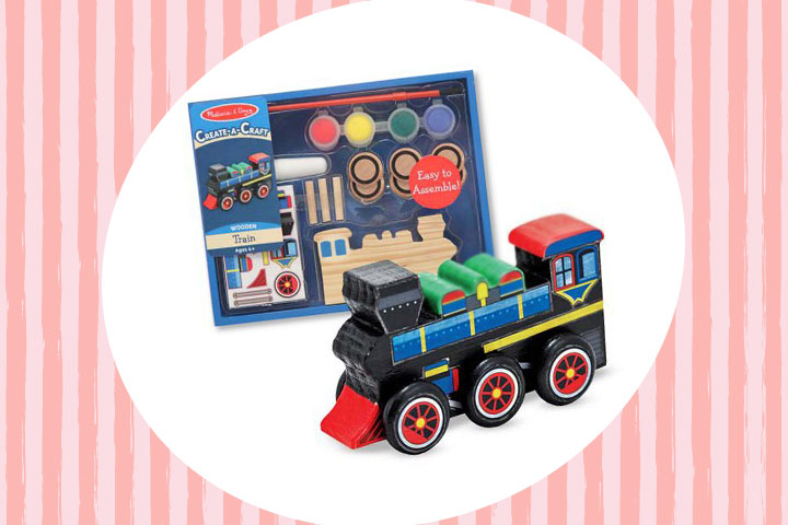 Party Favor Ideas For Kids - Decorate Your Own Train Party Favor