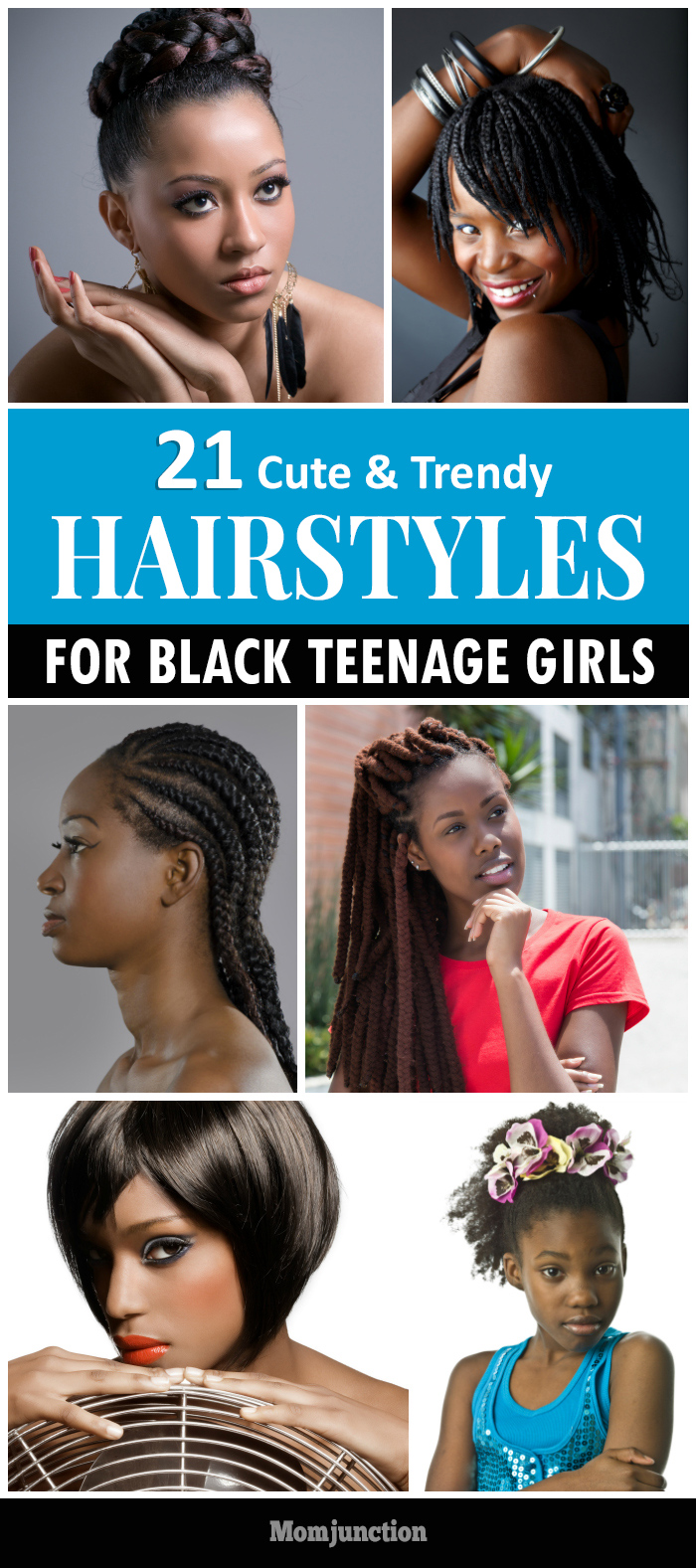 Magnificent 21 Cute And Trendy Hairstyles For Black Teenage Girls Hairstyles For Men Maxibearus