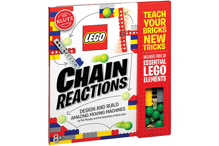 23. Klutz Lego Chain Reactions Science & Building Kit