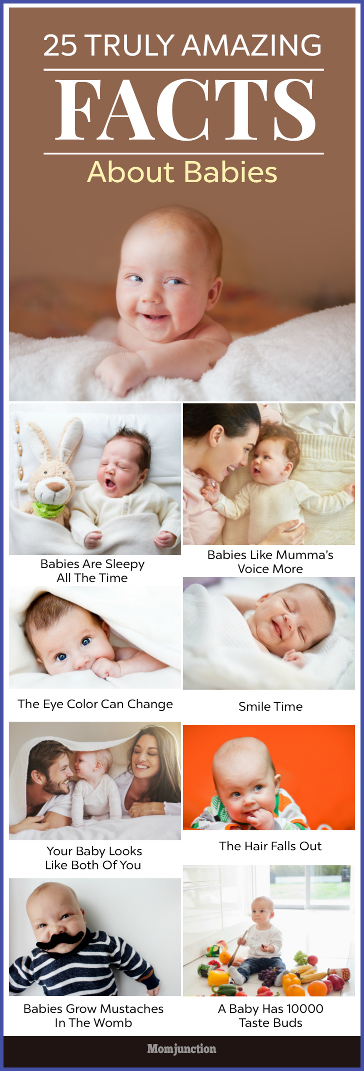 What determines a baby's eye color?