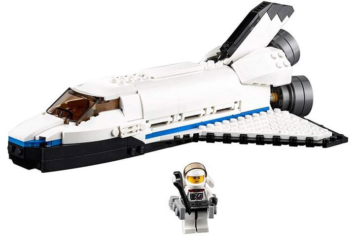 3. LEGO Creator Space Shuttle Explorer 31066 Building Kit