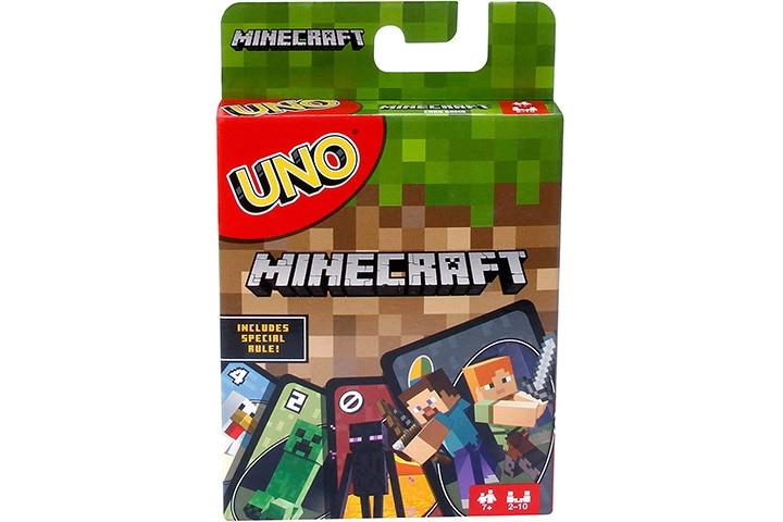 6. UNO Minecraft Card Game