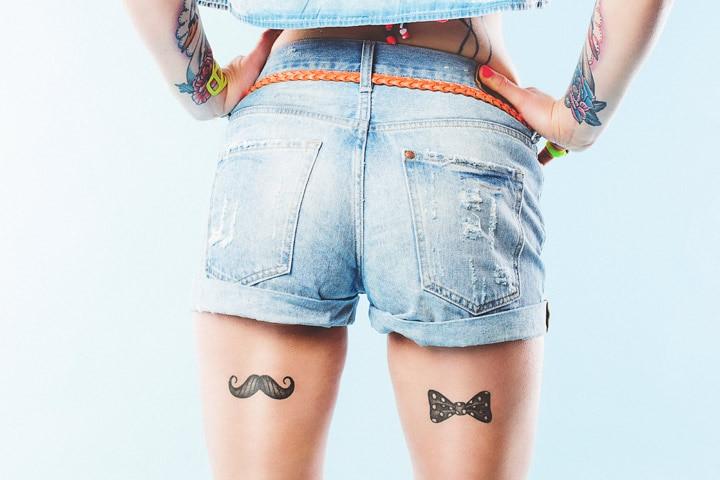 Tattoo Ideas For Teens - Bow Tattoo