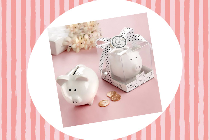 Party Favor Ideas For Kids - Mini Piggy Bank