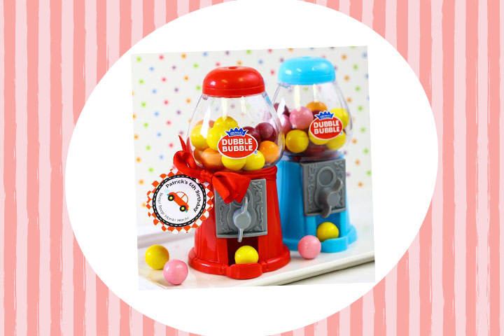 Party Favor Ideas For Kids - Mini Classic Gumball Machines