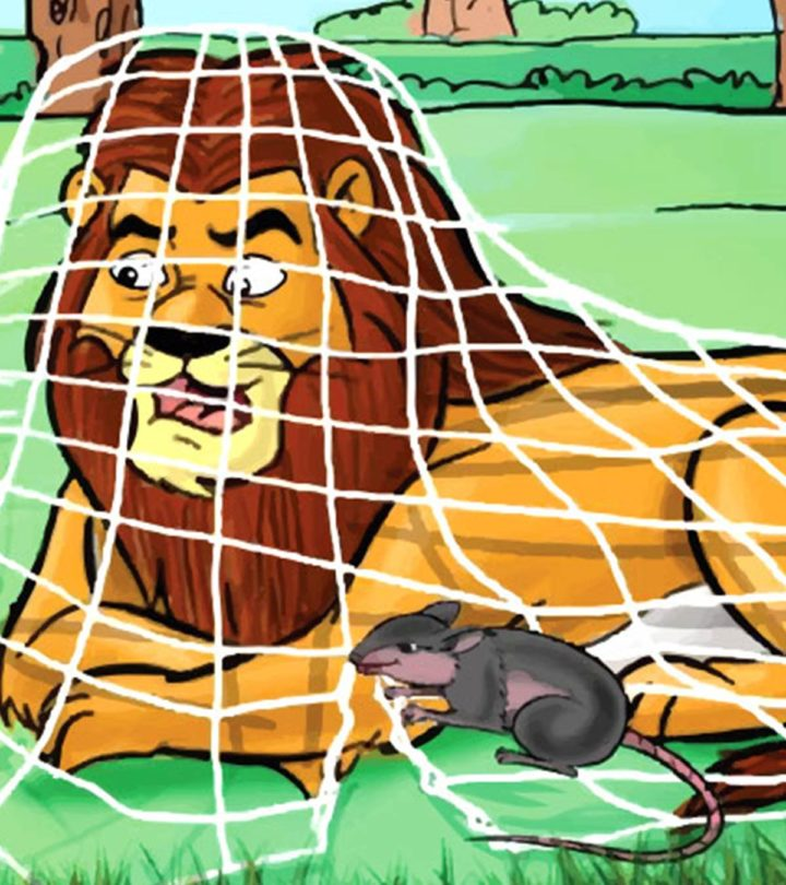 The Lion And The Mouse Story For Your Kid