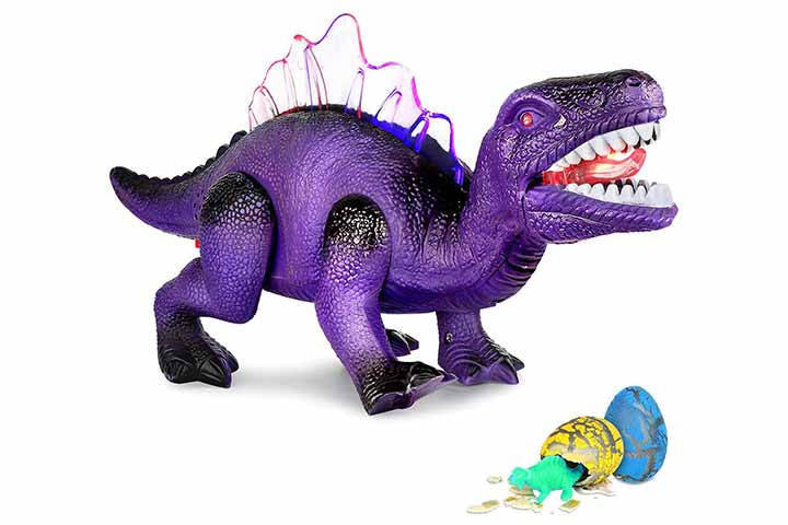 Aokesi LED Walking Dinosaur Toys