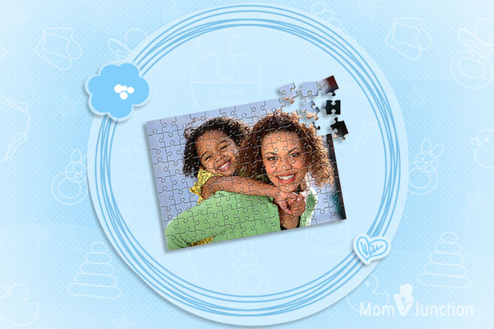 Mother's Day Gifts - Assembling Memories Personalized Jigsaw Puzzle