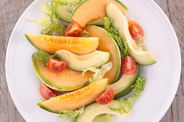 Avocado For Babies - Avocado And Melon Mix
