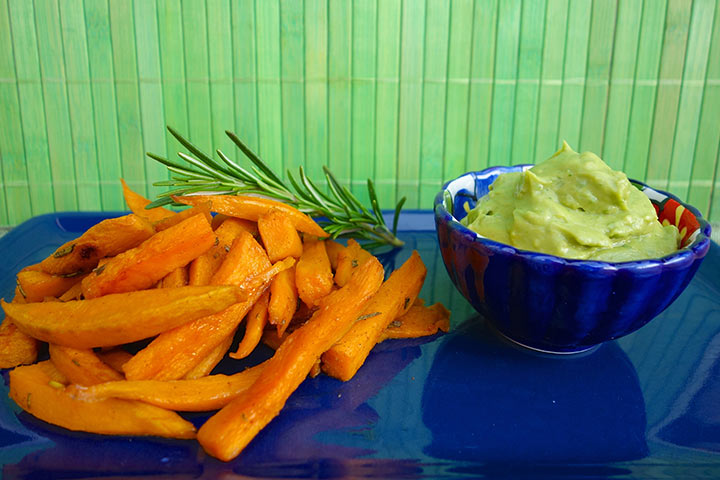 Avocado For Babies - Avocado And Sweet Potato
