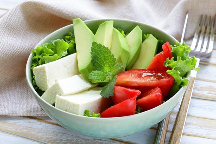 Avocado For Babies - Avocado And Tofu