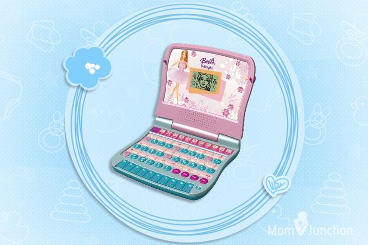 Laptop Toys - Barbie B-Smart Learning Laptop