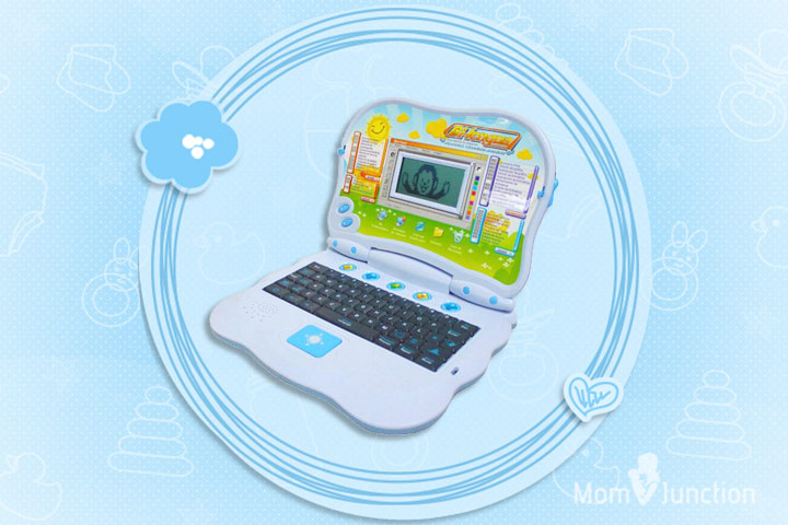 Laptop Toys - Bilingual Advanced Learning Children Laptop