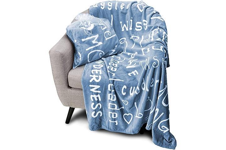 Blankiegram Mother Throw Blanket