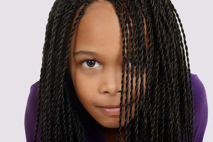 Cool 21 Cute And Trendy Hairstyles For Black Teenage Girls Hairstyles For Women Draintrainus