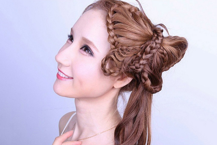 Cute Hairstyles For Black Teens - Butterfly Braids