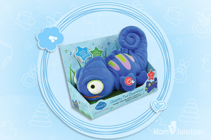 Toys For 5 Year Old Girls - Charley The Chameleon Cuddly Night Light