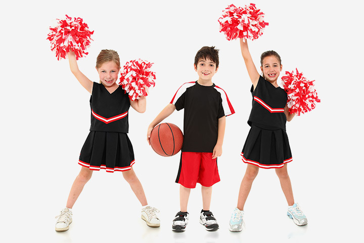 Best Sports For Kids - Cheer leading