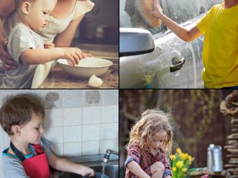 Chores For Kids: Easy Tasks To Get Them Work Around The House