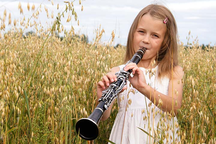 Musical Instruments For Kids - Clarinet
