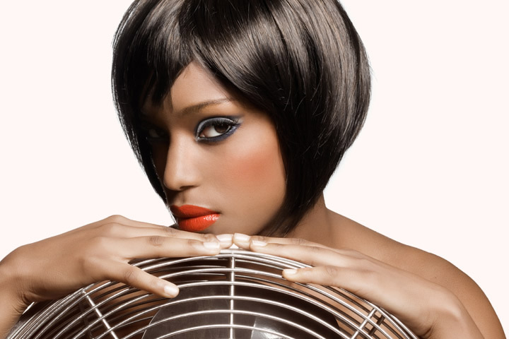 Cute Hairstyles For Black Teens - Classic Bob