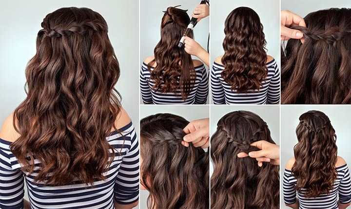 Hairstyles For Black Teenage Girl - Curly Ringlets