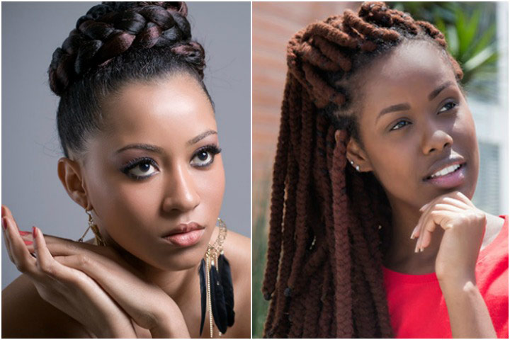 2018 Braided Hairstyle Ideas For Black Women