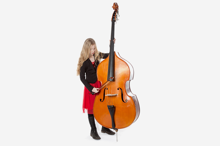 Musical Instruments For Kids - Double Bass