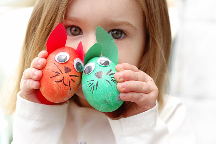 Egg Craft - Easter Bunny Egg