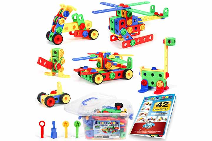 Educational Construction Engineering Building Blocks Learning Set