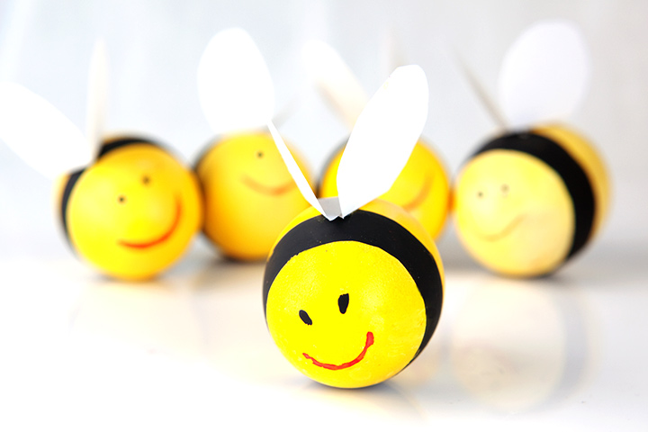 Egg Craft - Egg Bee Craft