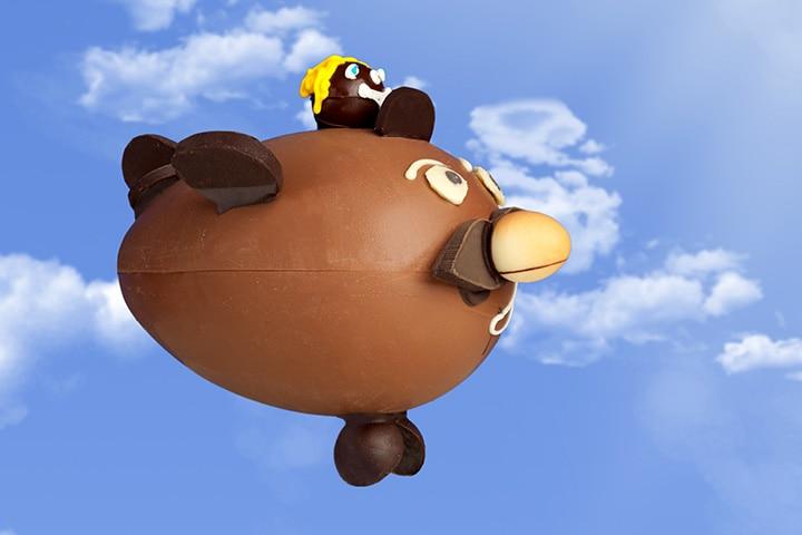 Airplane Craft - Egg, Chocolate, And Cream Airplane