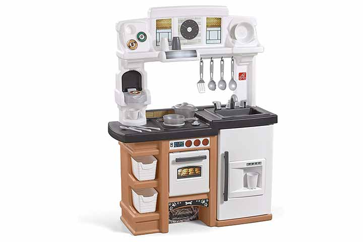Espresso Bar Play Kitchen for Kids
